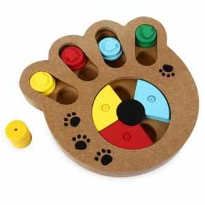 Interactive IQ Dog Treat Puzzle - Keep Your Dog Busy -