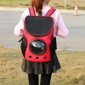 Pet Capsule Backpack - Ultra Unique Astronaut Space Capsule Design -