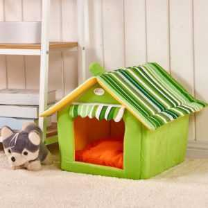 Dog House With Removable Cover -