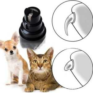 Premium Rechargeable Painless Pet's Nail Grinder -